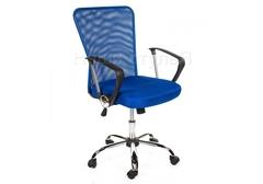 Офисное кресло Люкс (Luxe) синее