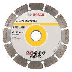 Алмазный диск Bosch ECO Universal 150х22,23 мм