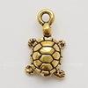 "Подвеска TierraCast ""Черепаха"" 3D (цвет-античное золото) 20х11 мм (20170913_111933)"