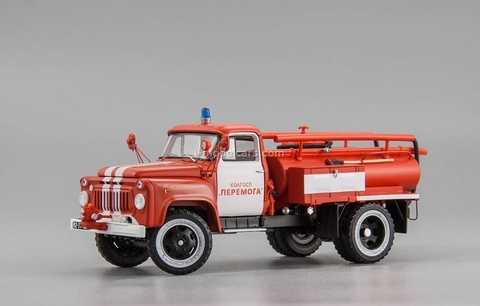 GAZ-52 ACU-10 DIP fire Engine 1978 collective farm Peremoga 1:43