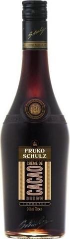 Ликер Fruko Schulz Creme De Cacao Brown, 0.7 л