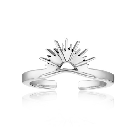 Миди-кольцо CORONA