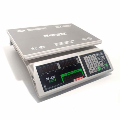 Весы торговые M-ER 326AC