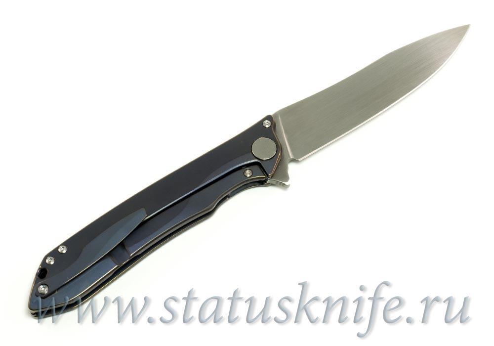 Нож CKF MILK (М390, титан, ручной сатин)