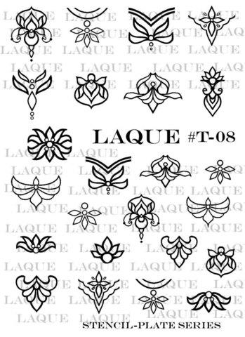 Слайдер-трафареты для объемного дизайна T-008