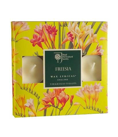 Набор ароматических чайных свечей Цветущая фрезия, Wax Lyrical