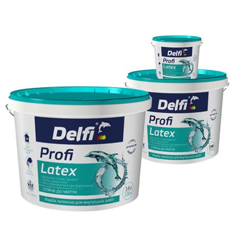 Водоэмульсионная краска Delfi Profi Latex
