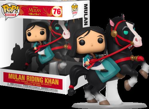 Фигурка Funko Pop! Rides: Mulan - Mulan riding Khan