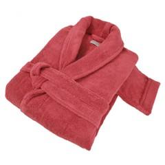 Элитный халат махровый Pera красный от Hamam
