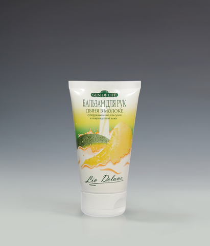 Бальзам для рук «Дыня в молоке», суперувлажнение для сухой и поврежденной кожи