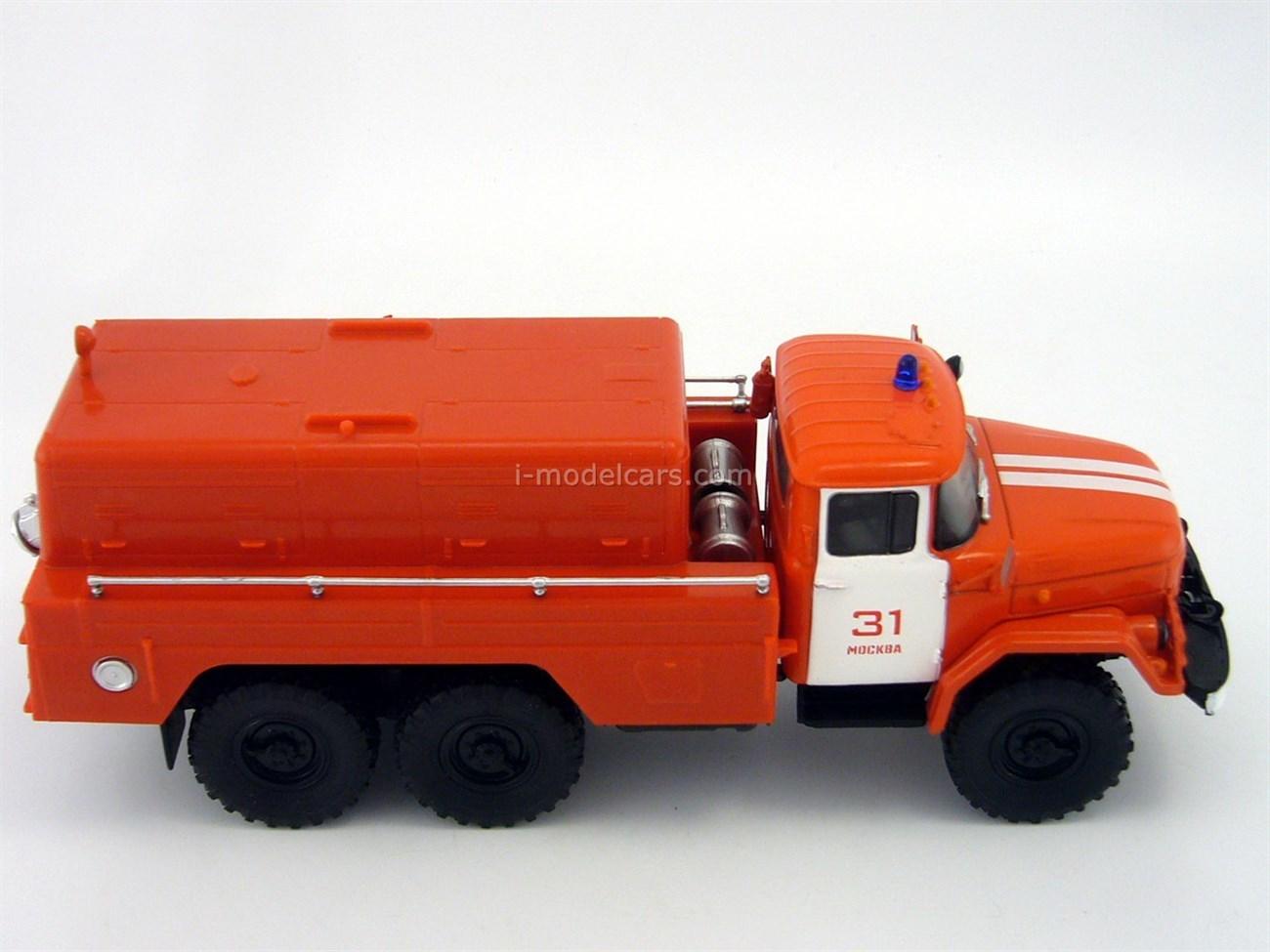 ZIL-131 PNS-110 firefighter 1:43 DeAgostini Auto Legends USSR Trucks #11
