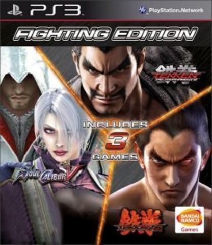PS3 Fighting Edition (Tekken 6 + Soul Calibur 5 + Tekken Tag Tournament 2)