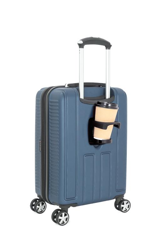 Чемодан WENGER VAUD, цвет синий, с подставкой для кофе, 47x23x35 см, 38 л. (WGR6399343154).