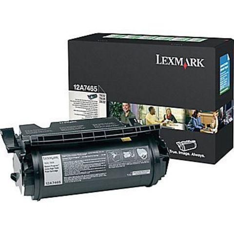Картридж для принтеров Lexmark T632/634 черный (black). Ресурс 32000 стр (12A7465)
