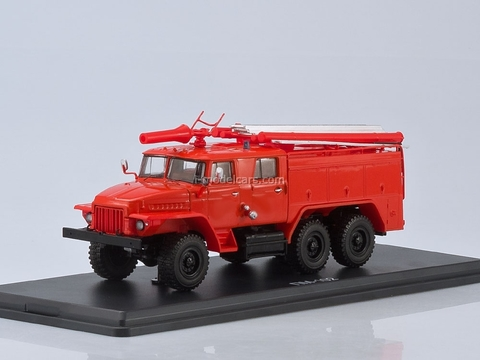 Ural-375N AC-40 C1A without inscriptions 1:43 Start Scale Models (SSM)