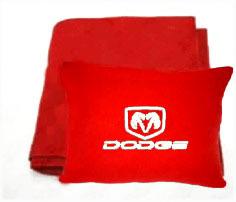 Плед в чехле с логотипом Dodge