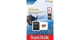 MicroSDXC 64GB SanDisk UHS-I U3 Extreme (SD адаптер) блистер