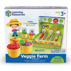Набор для сортировки Овощи на грядке Learning Resources, упаковка