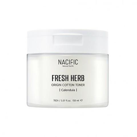 Тонер NACIFIC Fresh Herb Origin Cotton Toner 70 шт.