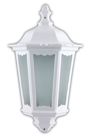 Светильник садово-парковый, 60W 220V E27 белый , IP44 , 6206 (Feron)