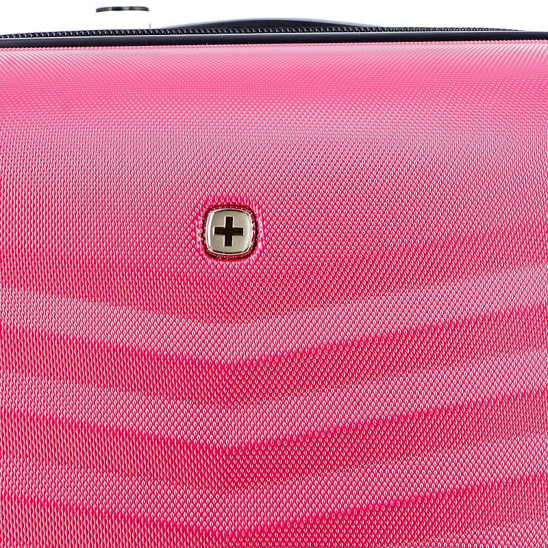 Чемодан Wenger Fribourg, красный, 41х27х69 см, 64 л