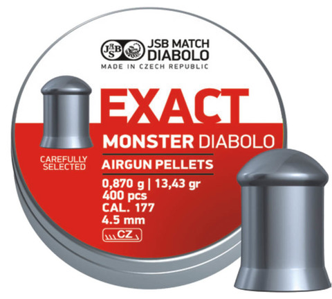 JSB Exact Monster 4,52/0,87