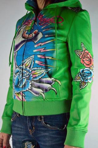 Куртка Ed Hardy (100% натуральная кожа)