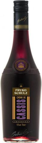 Ликер Fruko Schulz, Creme de Cassis, 0.7 л