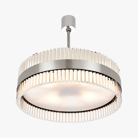 replica light  CURZON STREET DRUM CHANDELIER by BELLA FIGURA