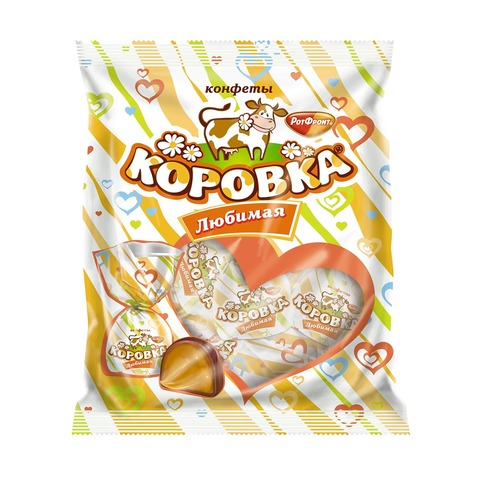 """Конфеты """"Рот Фронт"""" Коровка любимая, 250 г"""