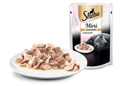 Sheba mini  с лососем 50гр