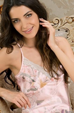 Пижама женская шелковая Mia-Amore EDEM  Эдем  5952