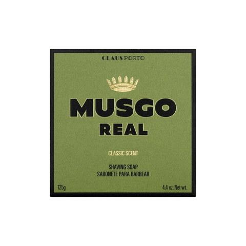 Твердое мыло для бритья Musgo Real Classic