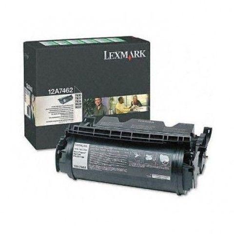 Картридж для принтеров Lexmark T63x черный (black). Ресурс 21000 стр (12A7462)