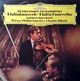 Mendelssohn, Tschaikowsky, Nathan Milstein, Claudio Abbado, Wiener Philharmoniker / Violinkonzerte - Violin Concertos (LP)
