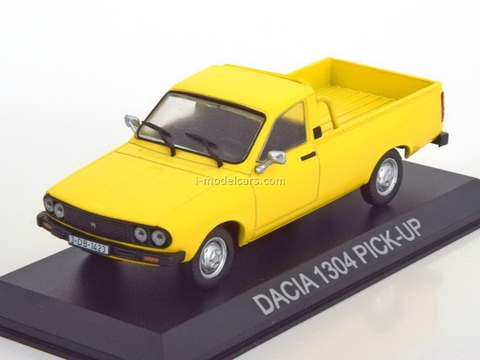 Dacia 1304 Pick-Up yellow 1:43 DeAgostini Masini de legenda #9