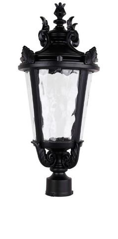 Светильник садово-парковый, 60W 230V E27 черный, IP44, PL4003 (Feron)