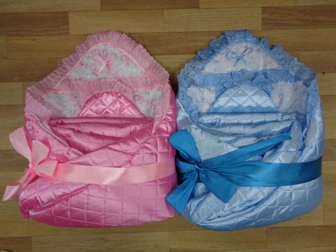 Комплект с одеялом д/выписки № 7 (стеганый атлас) ЗИМА
