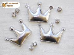 Мягкие короны средние серебряные