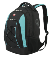 Рюкзак WENGER, цвет черный/синий (11862315)