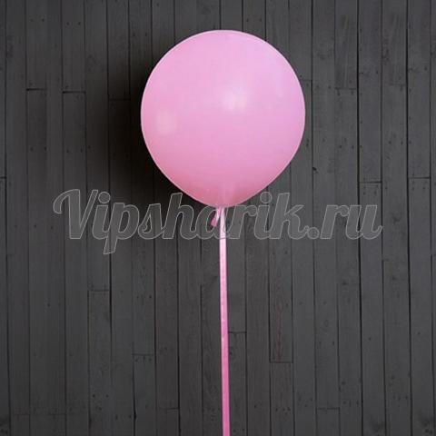 Шар-гигант нежно-розовый