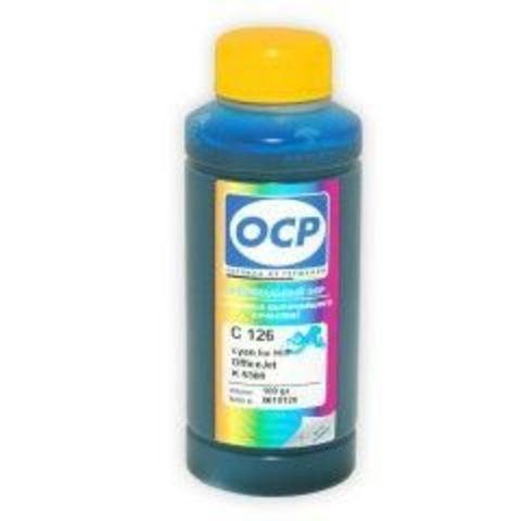 Чернила OCP C126 Cyan для картриджей HP 18, HP 88, 100 мл