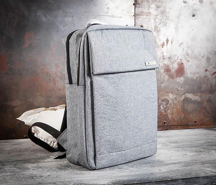BAG455-3 Стильный городской рюкзак из ткани фото 01