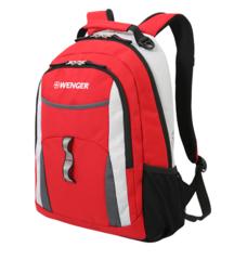 Рюкзак WENGER, цвет красный/серый/серебристый (3162114408)