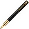 Купить Ручка-5й пишущий узел Parker Ingenuity S F500, цвет: LaqBlack GT, стержень: Fblack, S0959040 по доступной цене