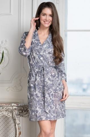 Короткий халат Mia-Amore TESSA 6833