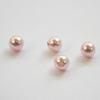 5818 Хрустальный жемчуг Сваровски Crystal Rosaline круглый с несквозным отверстием 4 мм, 4 штуки