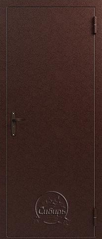 Дверь входная Сибирь S3 (супер-эконом) 2 замка, 2 замка, 0,8 мм  металл, (медь+медь)