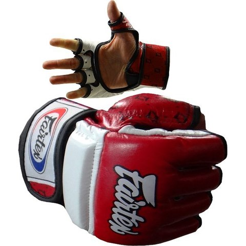 Перчатки MMA Fairtex Sparring Gloves FGV17 Red