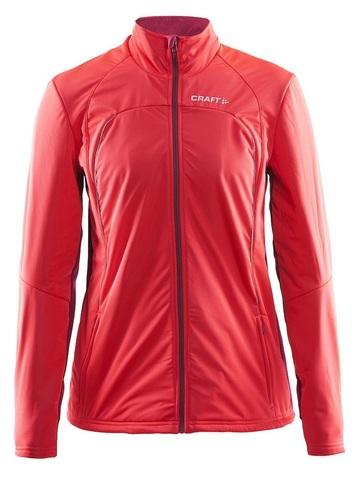 Лыжная куртка Craft Storm XC женская красная